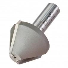 Mortar Groove/Large chamfer 60 degrees - shank 1/2