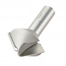 Birdsmouth cutter 8 sided 45 deg  - shank 1/2