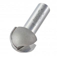 Cove cutter 12.7mm radius - shank 1/2