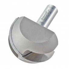 Cove cutter 25.4mm radius - shank 1/2