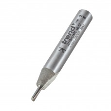 Single flute cutter 2mm diameter - shank 1/4