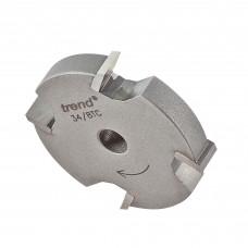 Slotter 7mm kerf 1/4 bore