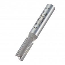 Two flute cutter 6mm diameter - shank 1/4