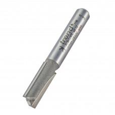 Two flute cutter 7mm diameter - shank 1/4