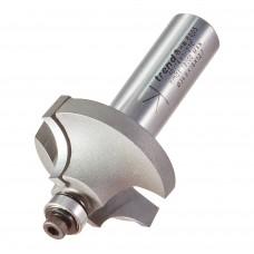 Bearing guided ovolo cutter 9.5mm radius - shank 1/2