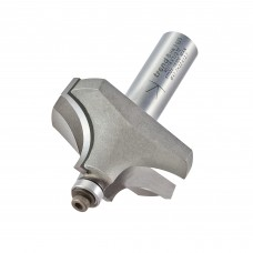 Bearing guided ovolo cutter 15.9mm radius - shank 1/2