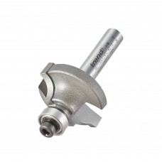 Bearing guided ovolo cutter 6.3mm radius - shank 1/4