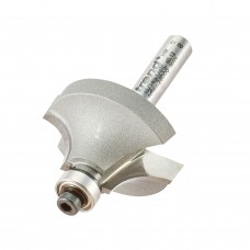 Bearing guided ovolo cutter 9.5mm radius - shank 1/4