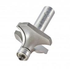 Bearing guided ovolo cutter 14.2mm radius - shank 1/2