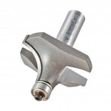Bearing guided ovolo cutter 19mm radius - shank 1/2