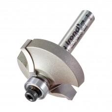 Guided flat ovolo cutter 12mm radius - shank 1/4