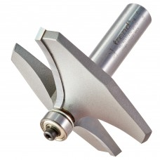 Guided thumb mould cutter - shank 1/2