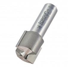 Two flute cutter 22mm diameter - shank 1/2