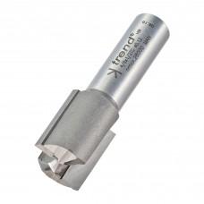 Two flute cutter 20mm diameter - shank 1/2