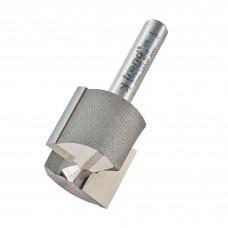Two flute cutter 23mm diameter - shank 1/4