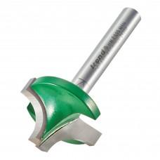 Sash bar 9.5mm radius x 25.4mm cut  - shank 1/4