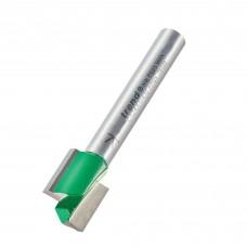 Straight 12.7mm diameter x 12.7mm cut  - shank 1/4