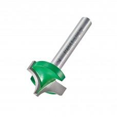 Rounding over 9.5mm radius x 22.2mm cut  - shank 1/4