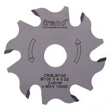 CraftPro Biscuit blade 100mm diameter x 6T x  22mm