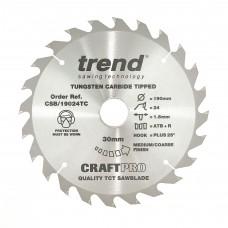 Craft saw blade 190mm x 24 teeth x 30 x 1.55 for DCS575