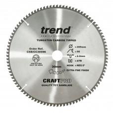 Craft saw blade crosscut 305mm x 96 teeth x 30mm