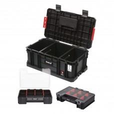 Modular Storage Compact Toolbox 200 with Mini Organisers