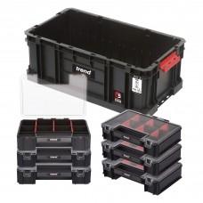 Modular Storage Compact Tote 200 with Mini Organisers