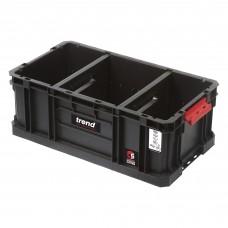 Modular Storage Compact Tote 200mm c/w divider