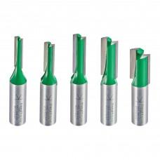 5 piece MT/JIG cutter set imperial  - shank 1/2