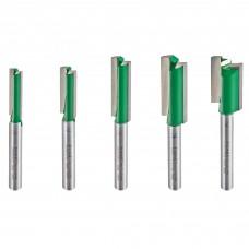 5 piece MT/JIG cutter set imperial  - shank 1/4