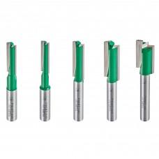 5 piece MT/JIG cutter set imperial  - shank 8 mm