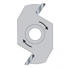 Slotter 8mm kerf 1/4 bore