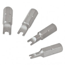 Snappy 25mm spanner bit set for pack - shank 1/4 hex