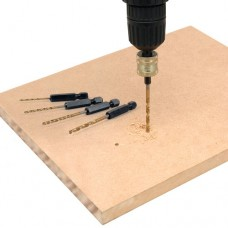 Trend Snappy hex drill set metric 7 piece - shank 1/4 hex