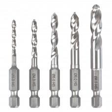 Trend Snappy metal twist drill set 5pc  - shank 1/4 hex