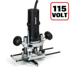 """850W 1/4"""" Variable Speed Router 115V - UK sale only"""