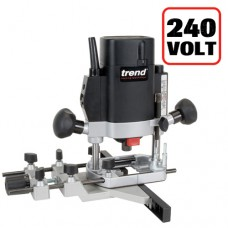 """1000W 1/4"""" Variable Speed Router 240V - UK sale only"""