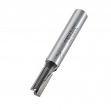 Two flute cutter 6.35mm diameter - shank 8 mm