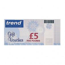 Gift Voucher 5 Pounds