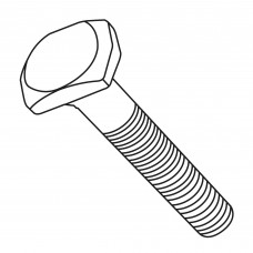 T bolt UNC 1/4 x 1-1/4 male for fence