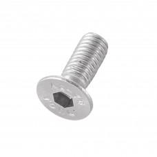 Mach screw csk M6x16mm skt