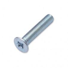 M5 x 25mm countersunk Pozi machine screw
