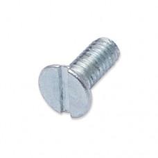 M4 x 10mm countersunk slot machine screw